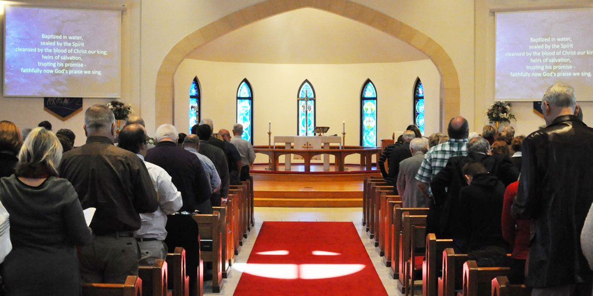 St. John Lutheran Church Worship Service
