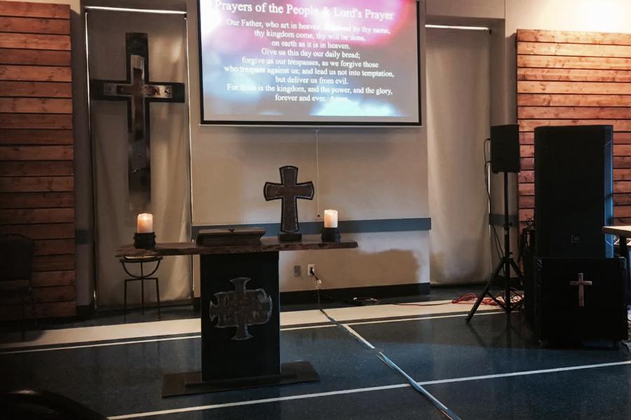 Praise Service Altar