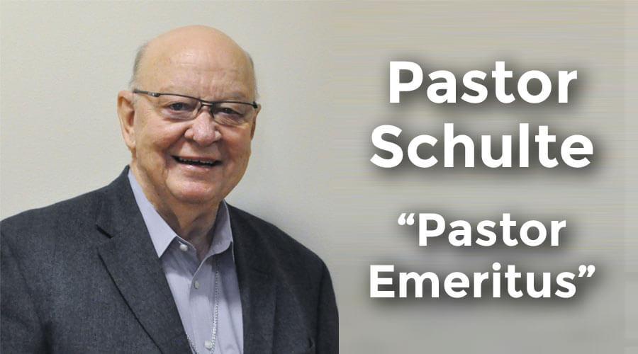 Pastor Henry Schulte