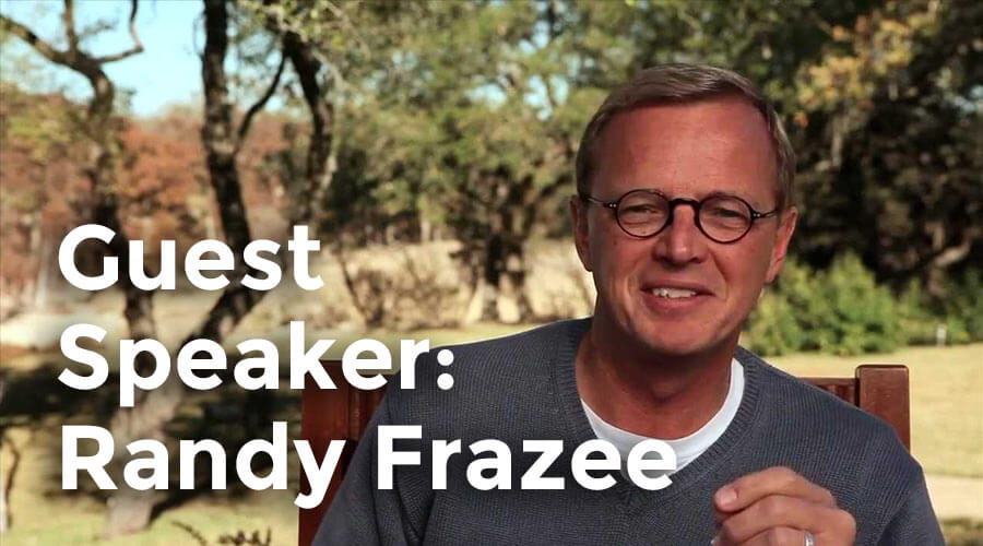 Randy Frazee, Author of The Story