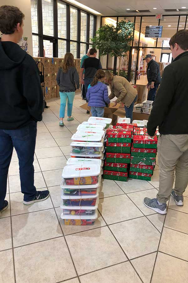 Operation Christmas Child 2018