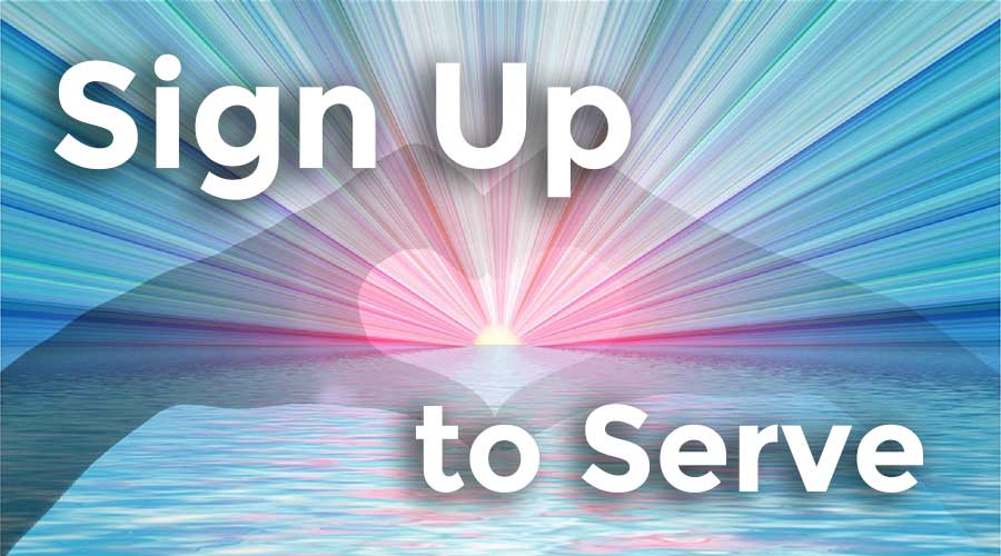 Sign Up to Serve