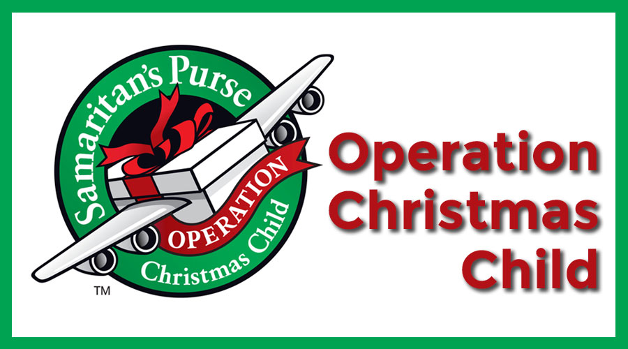 Christmas Child.Operation Christmas Child 2019 St John Lutheran Church
