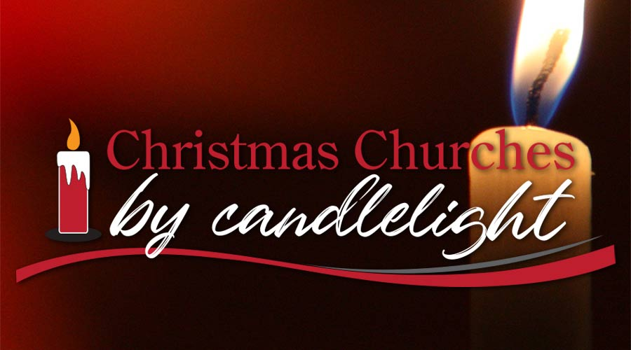 Christmas Churches by Candelight