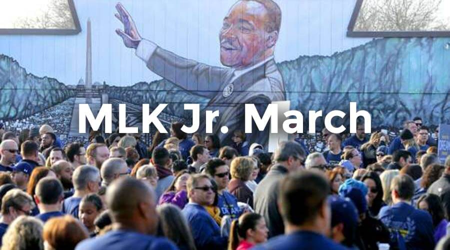 Martin Luther King Jr. March 2020