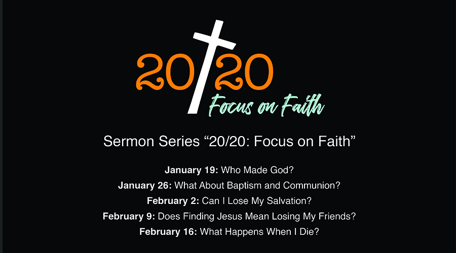 20/20 Focus on Faith Sermon Series