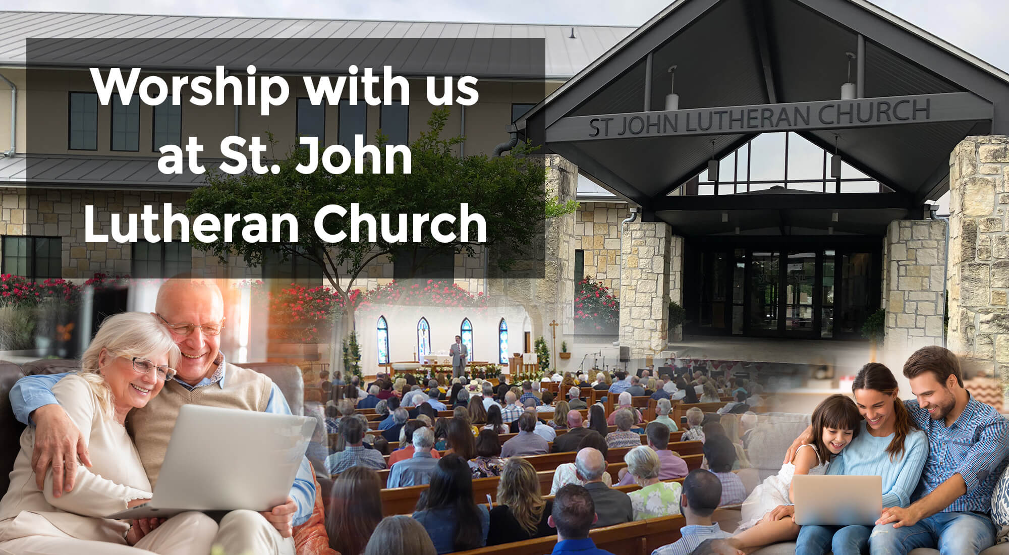 Worship with us at St. John Lutheran Church!
