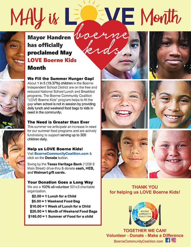 Love Boerne Kids May 2020