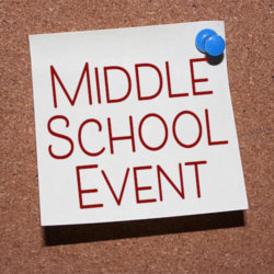 Middle School Event