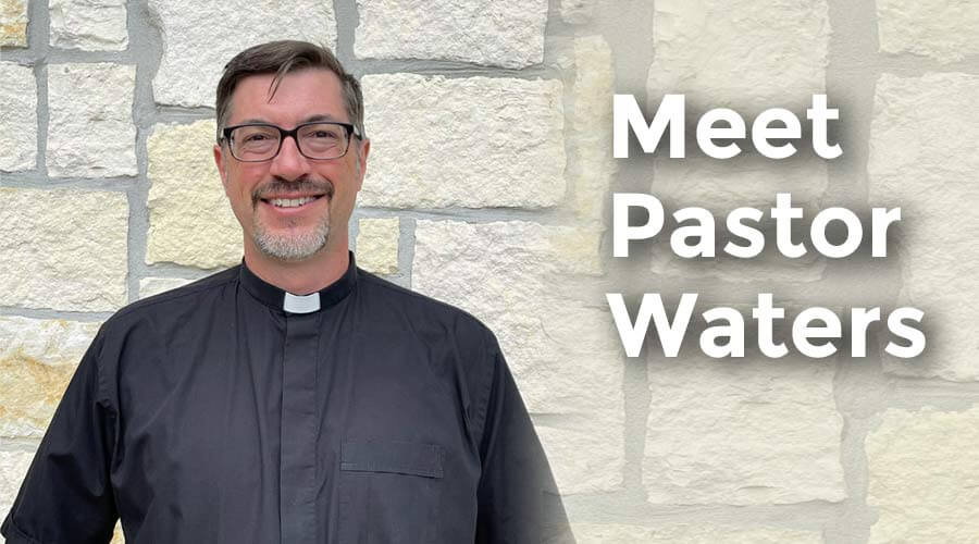 Pastor Eric Waters