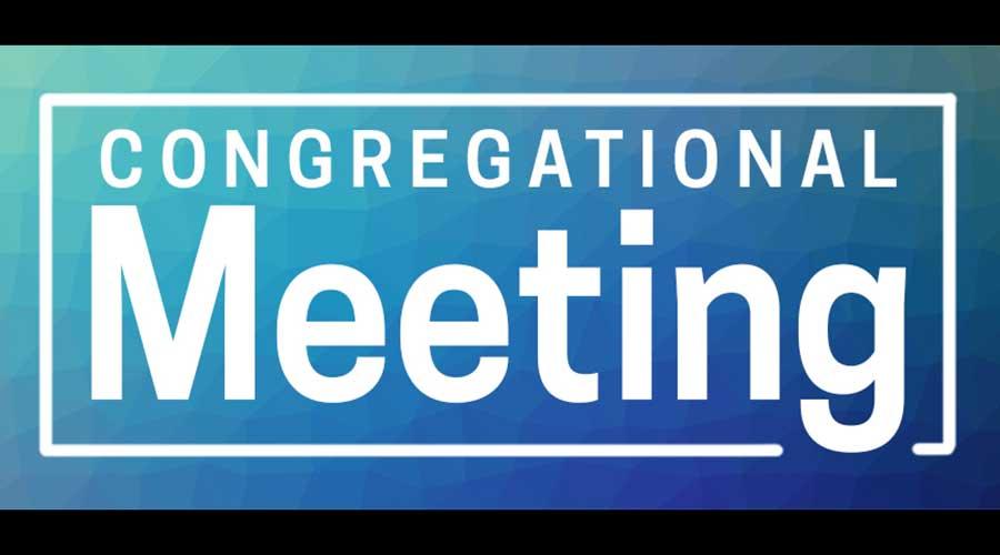 Congregational Meeting