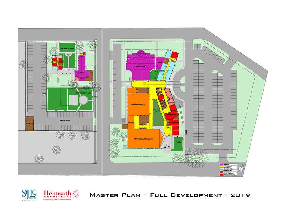 Map of Facilities Master Plan